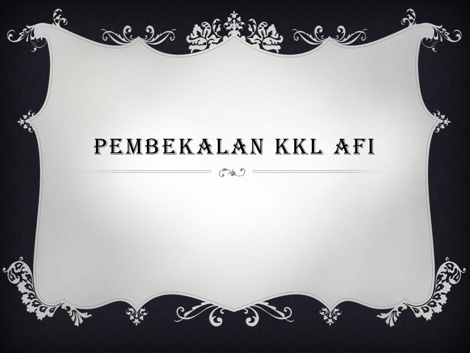 Kegiatan Pembekalan KKL Program Studi Aqidah Filsafat Islam
