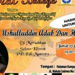 Festival Budaya bersama Candra Malik